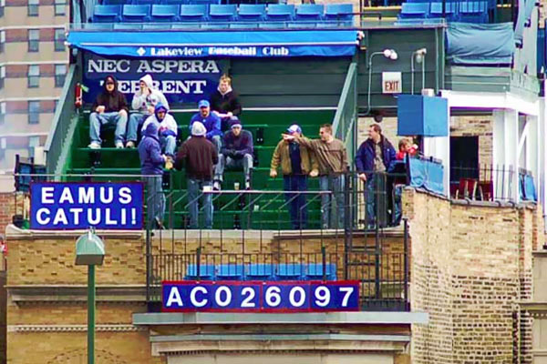 sheffield baseball club chicago s wrigley rooftops