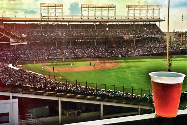 ivy league baseball club chicago s wrigley rooftops